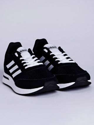Tênis Esportivo Masculino Adidas Run 70s Preto/branco