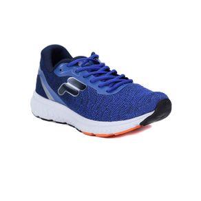 Tênis Esportivo Masculino Fila Volt Azul/laranja 44