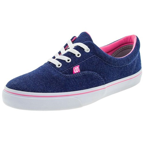 Tênis Feminino Casual Jeans Whoop - W7508