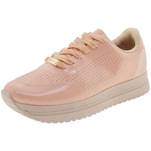 Tênis Feminino Flatform Moleca - 5675100 Coral 34