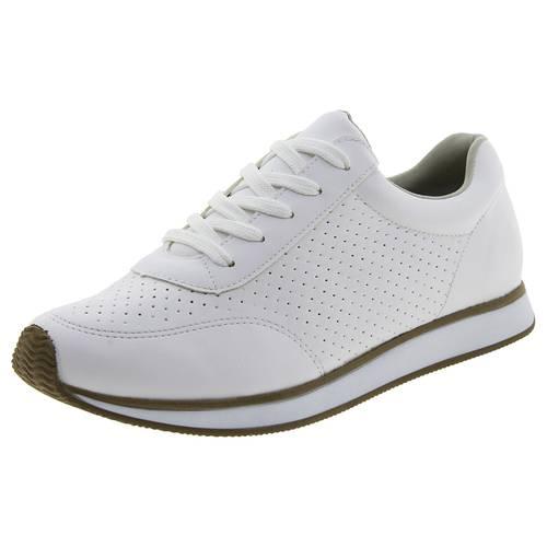 Tênis Feminino Jogging Branco Via Marte - 1616501 Branco 38