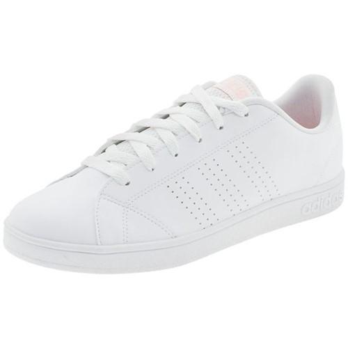 Tênis Feminino Vs Advantage Clean Adidas - BB9616 Branco/rosa Tênis Feminino Vs Advantage Clean Adidas - Bb9616 Branco/rosa 36
