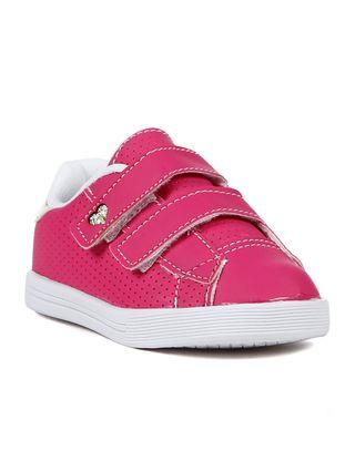 Tênis Flik Infantil para Bebê Menina - Rosa Pink