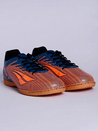 Tênis Futsal Masculino Penalty Amazonas Viii Azul/laranja