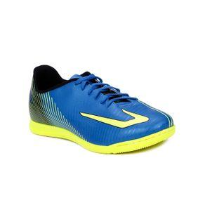 Tênis Futsal Masculino Topper Ultra Indoor Azul/amarelo 41