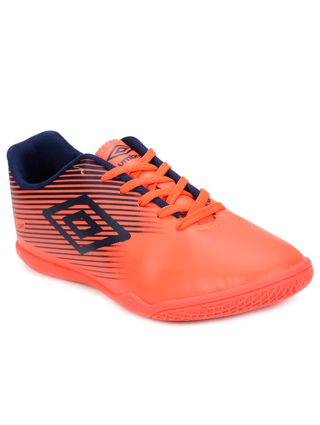 Tênis Futsal Masculino Umbro Coral/azul Marinho