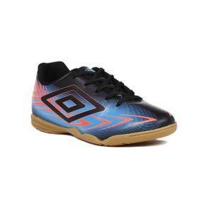 Tênis Futsal Umbro Speed III Infantil para Menino - Preto/azul 34