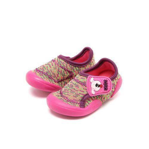 Tenis Infantil Baby New Confort Klin Rosa