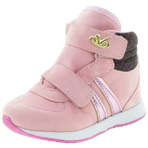 Tênis Infantil Baby Rosa Via Vip - VNJ119