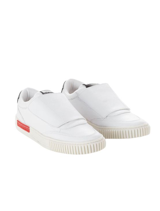 Tênis Infantil Calvin Klein Jeans com Fechamento em Velcro Branco - 30