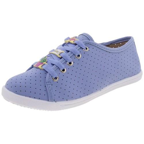 Tenis Infantil Feminino Molekinha - 2155143 Azul Tênis Infantil Feminino Molekinha - 2155143 Azul 25