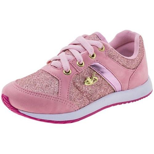 Tênis Infantil Feminino Pink Via Vip - 2150