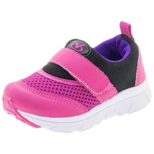 Tênis Infantil Feminino Pink Via Vip - VV1054