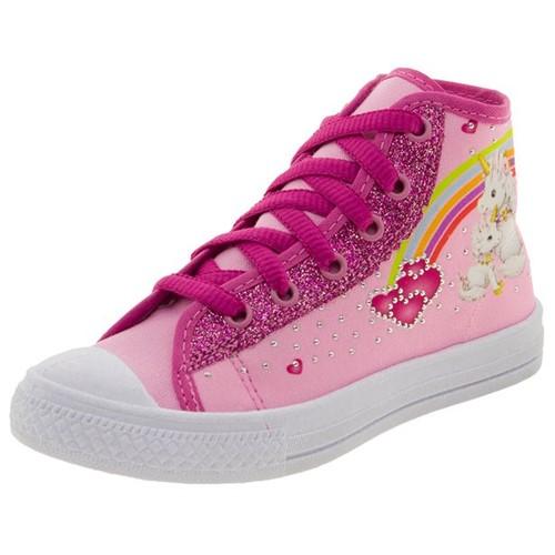 Tênis Infantil Feminino Pink Via Vip - VXV3043
