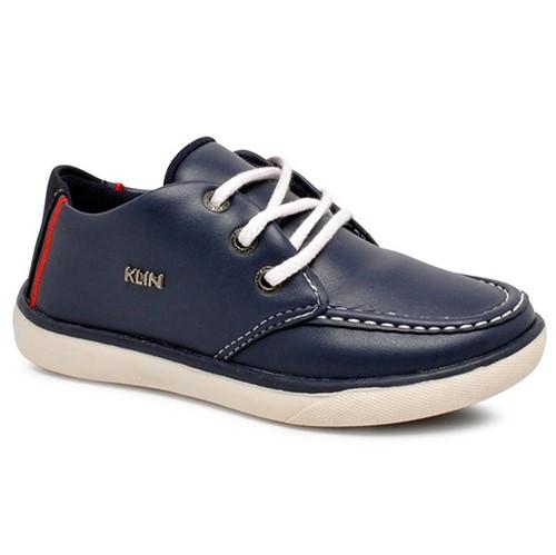 Tênis Infantil Klin 159063 Azul Marinho/Vermelho