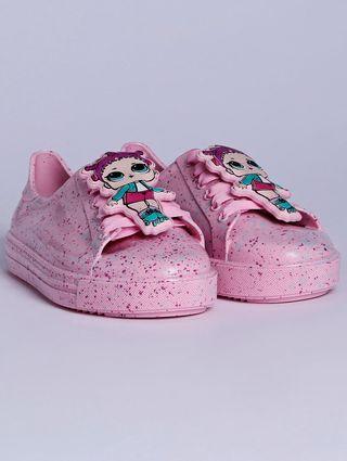 Tênis Infantil LOL Colors Infantil para Menina - Rosa