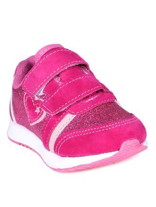 Tênis Infantil para Bebê Menina - Rosa Pink