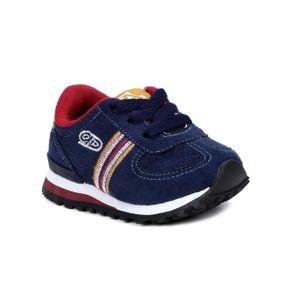 Tênis Infantil para Bebê Menino - Azul Marinho/bordô 18