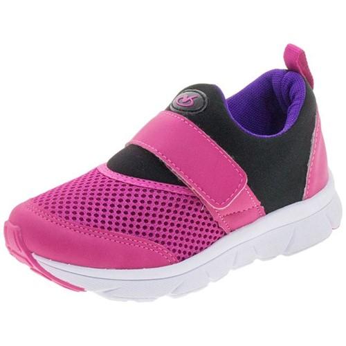 Tênis Infantil Via Vip - Vv1020 Pink 25