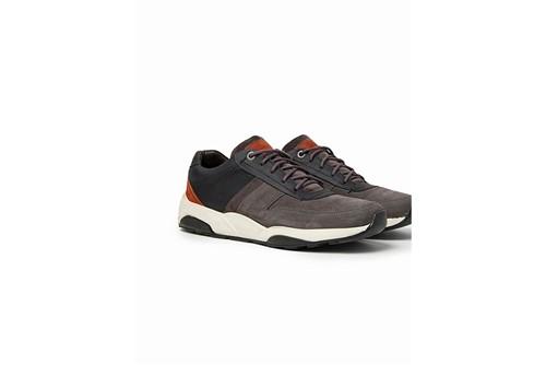 Tênis Jogging Couro Color - Cinza - 42