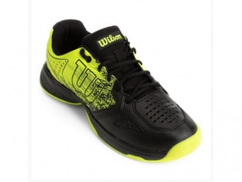 Tenis | K Ultimate Preto e Amarelo - Wilson