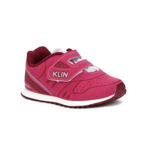 Tênis Klin Infantil Bebê para Menina - Rosa 16