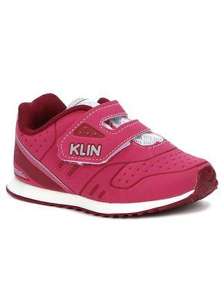 Tênis Klin Infantil Bebê para Menina - Rosa