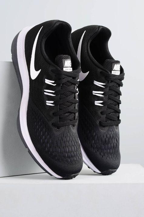 Tênis Masculino Nike Zoom Winflo 4 TEC - PRETO 42