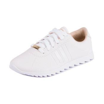 Tenis Moleca Casual Branco 33