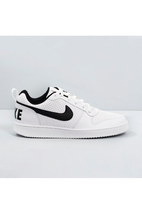 Tênis Nike Court Borough Low White/Black/39