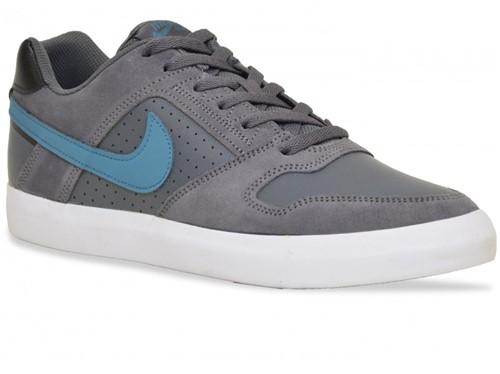 Tênis Nike Skate Sb Zoom Delta Force Vulc Chumbo