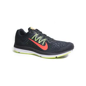 Tenis Nike Zoom Winflo Preto+limao Homem 39