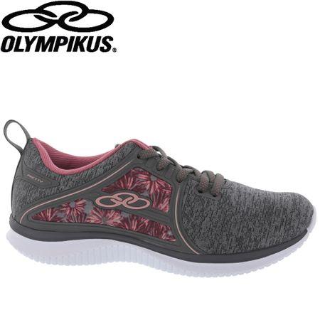 Tênis Olympikus Pretty Floral Cinza