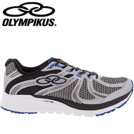 Tênis Olympikus Sprinter Prata e Preto