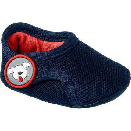 Tênis Papete C/ Velcro para Bebê Adventure Marinho - Klin
