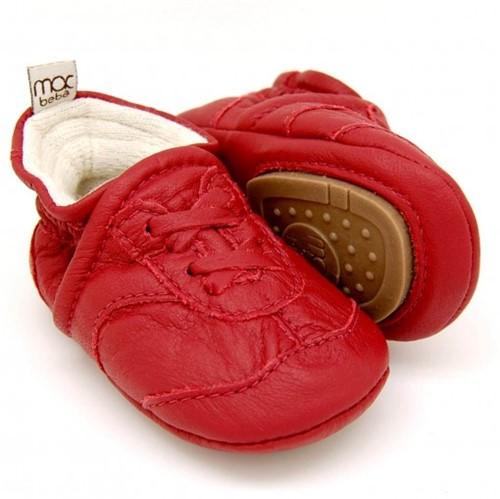 Tenis para Bebê Duda - Vermelho