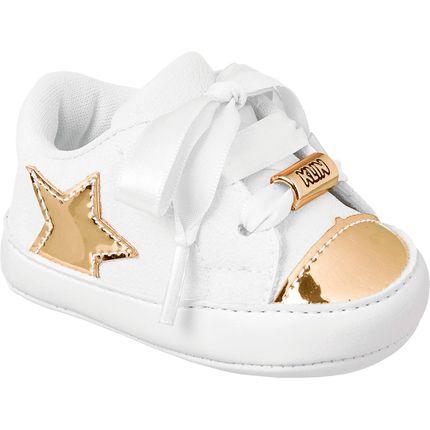 Tênis para Bebê Gold Stars - Klin