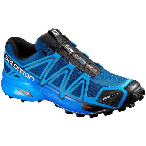 Tênis Salomon SpeedCross 4 CS Masculino Azul / Preto