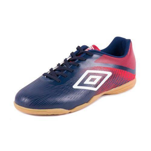 Tênis Umbro Futsal Footwear Snake Marinho/Vermelho/Branco