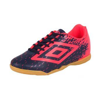 Tênis Umbro Futsal Indoor Footwar Marinho/Coral 43