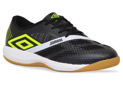 Tenis Umbro Futsal Soul Pro Preto