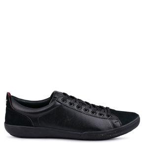 Tênis Wbts Kahala Sneaker Couro Preto