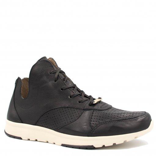Tênis Zariff Shoes Casual Cano Alto em Couro 4006ZRF   Betisa