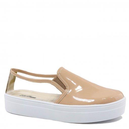 Tênis Zariff Shoes Slip On Flatform Vinil 6001AZRF | Betisa