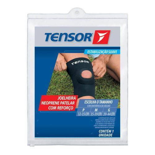 Tensor 8313 Joelheira Neoprene Reforço C/ Furo G