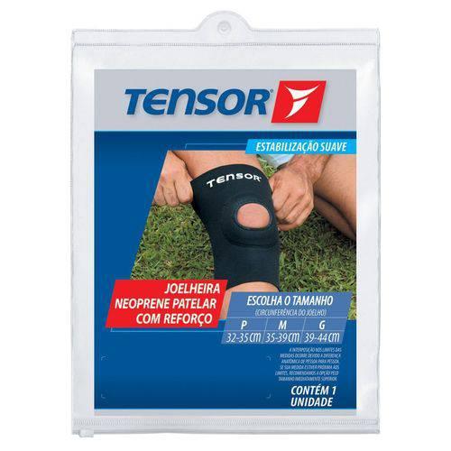 Tensor 8312 Joelheira Neoprene Reforço C/ Furo M
