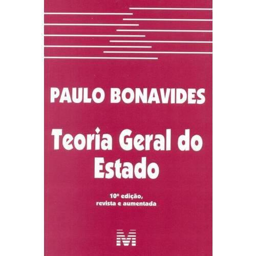 Teoria Geral do Estado - 10ª Ed. 2015
