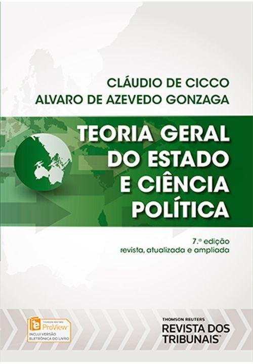 Teoria Geral do Estado e Ciência Política 7ª Edição