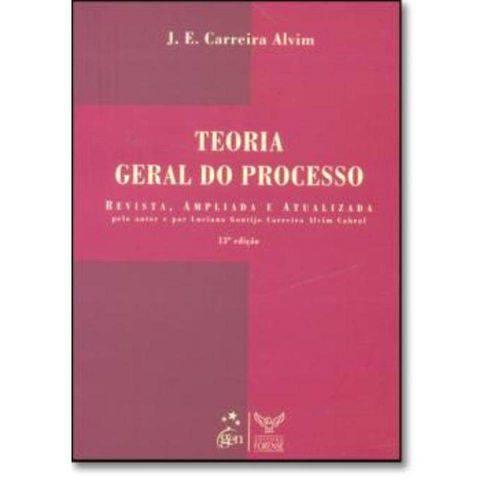 Teoria Geral do Processo - 13ª Edicao