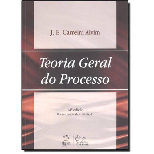 Teoria Geral do Processo - 14º Ed. 2011